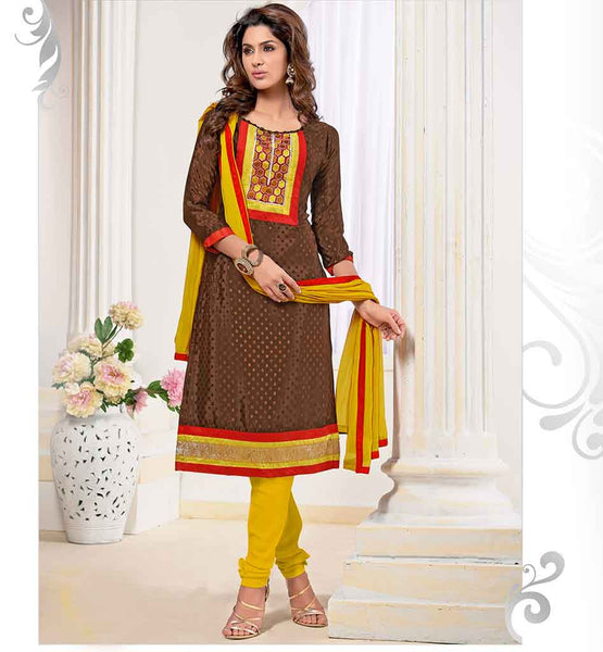 VALUE FOR MONEY OFFICE WEAR DRESS WITH CONTRAST SALWAR & DUPATTA