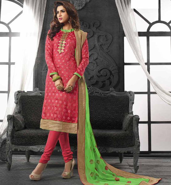 COOL CHANDERI COTTON CASUAL SALWAR SUIT FOR TRENDSETTING WOMEN