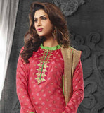 salwar kameez manufactured from cozy chanderi cotton material