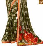 AWESOME-ABSTRACT-PRINT-ALL-OVER-THE-SARI-WITH-ZARI-LACE-BORDER-AND-ENHANCE-BLOUSE-STYLISH-SAREE-DRAPING-PATTERNS-WITH-EMBROIDERED-BLOUSE-DESIGNS