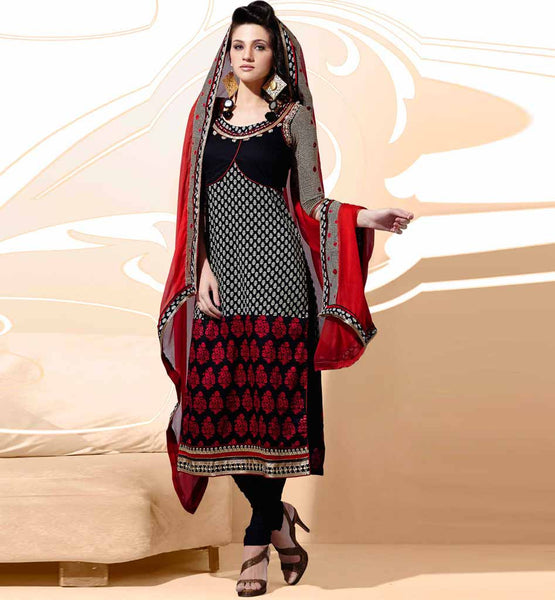 Indian designer party wear salwar kameez dress material