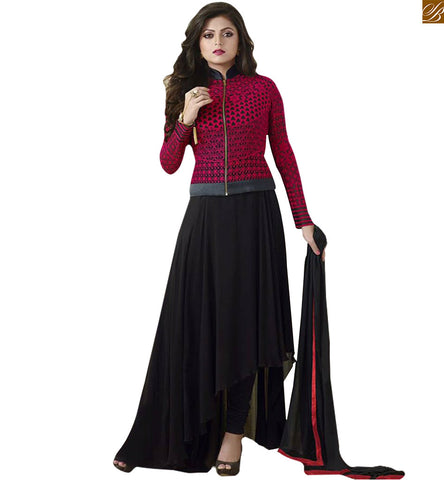 STYLISH BAZAAR CELEBRITY DRASHTI DHAMI IN DESIGNER IN AN AMAZING JACKET STYLE DESIGN LTNT81003