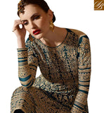 GORGEOUS RAMA GREEN COLORED DESIGNER SUIT YOU CAN'T MISS SLSKR8105