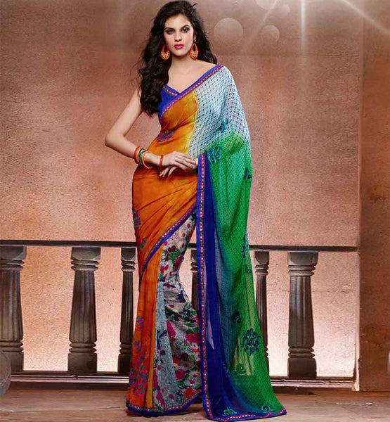 buy printed sarees online india