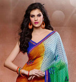 cheap printed sarees