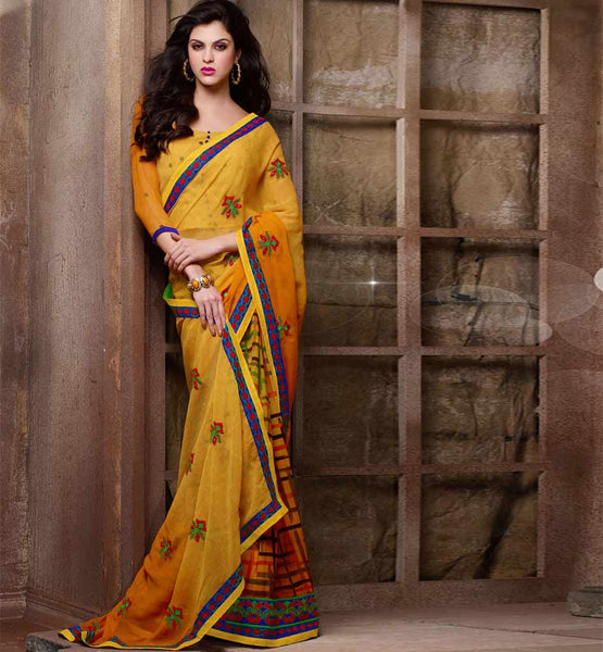 cheap printed sarees online india