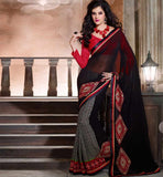 GEORGETTE PRINTED DESIGNER SAREE