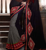 latest fashion printed sarees