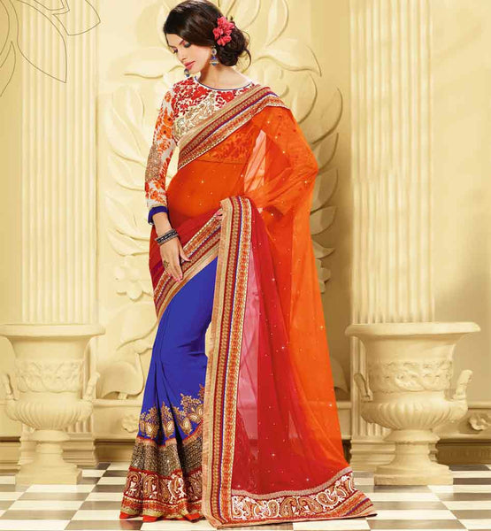 Wedding wear Saree