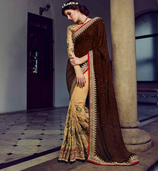 wedding sarees heavy work