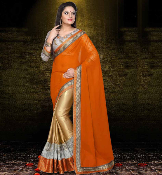Indian Designer Party wear Saree Online Shopping Stylish Bazaar ecommerce website