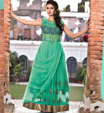 GOWN ONLINE PURCHASE INDIA NEW PATTERN EMBROIDERED ON FRONT & BACK