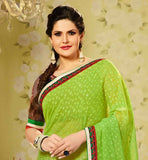 BOLLYWOOD CELEBRITY INSPIRED CLOTHING ZARINE KHAN SAREE-BLOUSE