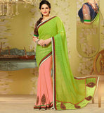 INDIAN SAREE & BLOUSE SHOPPING BOLLYWOOD PERSONALITY ZARINE–KHAN