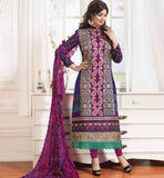 LADIES SALWAR SUIT MATERIAL BOLLYWOOD PERSONALITY AYESHA-TAKIA LOOK