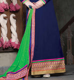 Full length designer straight salwar kameez dress stylish bazaar