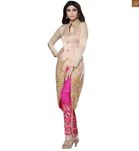 CELEBRITY DRESSES SHOP ONLINE UNIQUE STYLE CLOTHES INDIAN REALITY TELEVISION SHOW JUDGE AND BOLLYWOOD MOVIE HEROINE SHILPA SHETTY CLOTHING