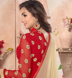 PALAZZO SALWAR WITH PARTY WEAR GEORGETTE KAMEEZ AND DUPATTA