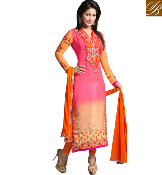 SHOP HINA KHAN AKSHARA BOLLYWOOD SALWAR KAMEEZ DRESSES COLLECTION