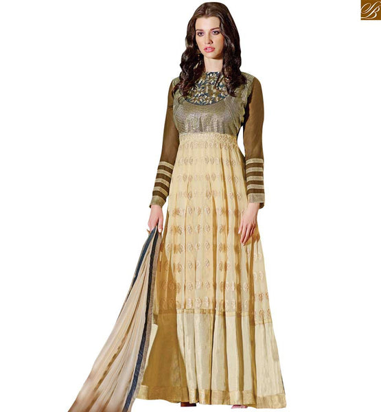 STYLISH BAZAAR INTRODUCES STRIKING DESIGNER SALWAR KAMEEZ SUIT DESIGN RTBUG9003