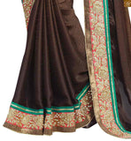 FROM STYLISH BAZAAR CHARMINGLY EMBROIDERED SARI BLOUSE DESIGN RTBAJ9003