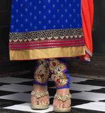EMBROIDERED TROUSER TYPE SALWAR