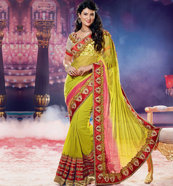 SAYALI BHAGAT GLAMORUS GEORGETTE SAREE RTJL9003 - STYLISHBAZAAR - SAYALI BHAGAT, BOLLYWOOD SAREES, JALPA Collection, buy sarees online UK, buy sarees UK, buy sarees USA, Sarees , Designer Saris, Online saree Collection, Online Shopping Website