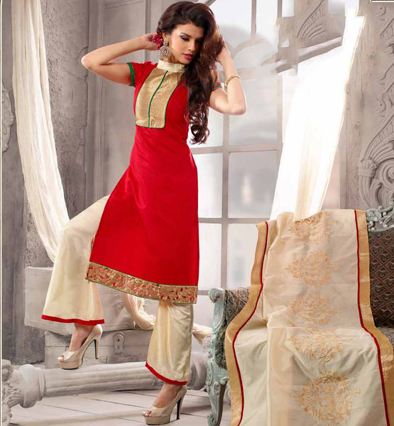 Trendy Straight cut is in Latest Fashion of Woman's Punjabi salwar suit.Anarkali everstylish ethnic kurti style kameez & designer dupatta dress looks pretty