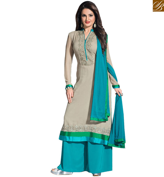 FROM STYLISH BAZAAR SARASWATICHANDRA TV SERIAL STAR MONICA BEDI IN ADORABLE SALWAAR SUIT VDHNY9003