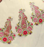 DESIGNS OF EMBROIDERY ON ANARKALI DRESS