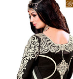 AYESHA TAKIA NAVIKA HIT DESIGN GOWN LOOK ANARKALI IN NEW BLACK COLOR RTNV9005C