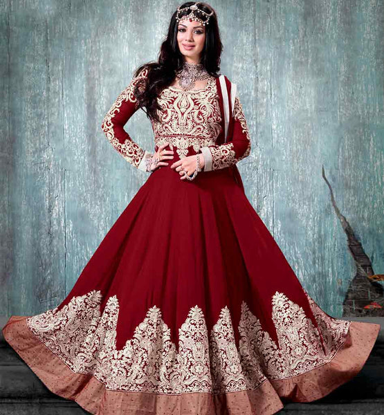 9005F NAVIKA AYESHA TAKIA MUGHAL PRINCESS LOOK MARRIAGE ANARKALI
