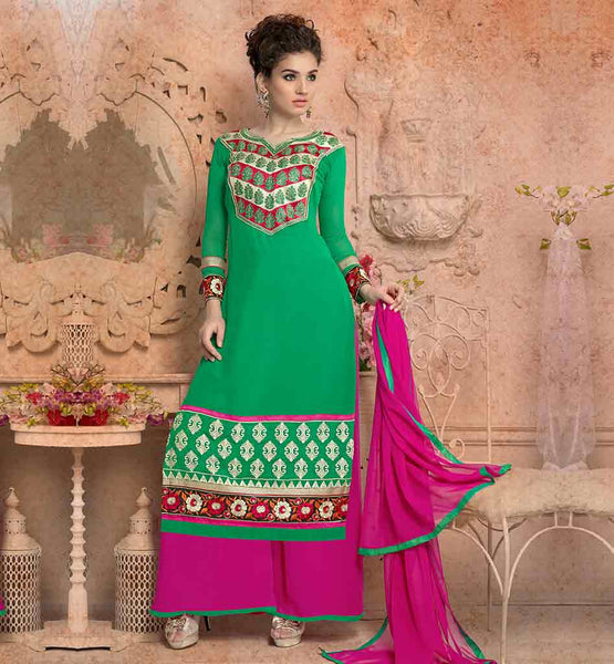 BUY FROM INDIA TRENDY KAMEEZ FOR WOMEN WITH PALAZZO STYLE PANTS