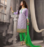 Straight Cut Has Taken Place Of Anarkali. Have You Tried This Glamorous Style?  Designer Has Started Inventing In This Churidar Type Salwar Kameez Dress Segment