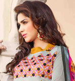 EXCELLENT COLOR COMBINATION PUNJABI DRESS WITH PRINTED ODHNI