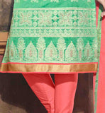 full embroidery Punjabi suits material for women