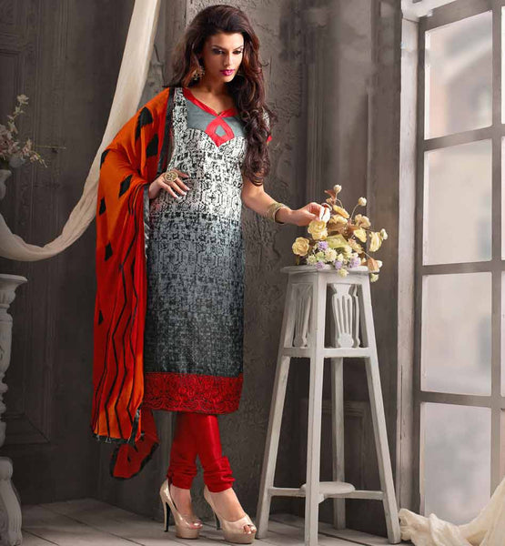 Every day Creative people of Indian fashion market invent latest designs of ever stylish straight cut kameez salwar suits for modern woman to shop online