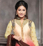 AWESOME AKSHARA IN EYE-CATCHING LONG PAKISTANI SALWAR SUIT