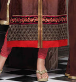 SHERWANI STYLE KURTI WITH CHURIDAR SALWAR