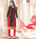 PUNJABI SUITS DRESS MATERIAL FOR FEMALE TRENDY NAZNEEN CHIFFON ODHNI