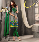 Buy online trendy & stylish dress. Minutely designed by designer of latest salwar kameez suit with dual unique color combination style of mono and contrast color pattern & pasting..