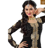 WOMEN DESIGNER PARTY WEAR ANARKALI SALWAR KAMEEZ SUITS AND DUPATTA