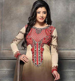 ITALIAN CREPE SHADED PARTY WEAR SALWAR KAMEEZ