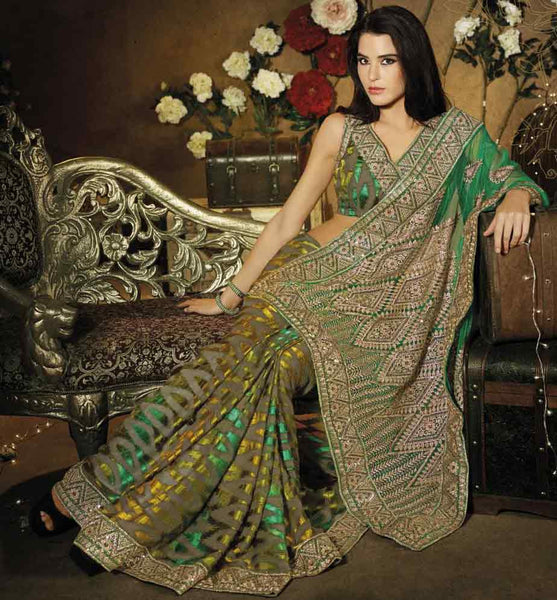 SIZZLING DESIGNER PARTY WEAR SAREE