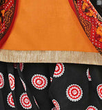 GORGEOUS SUIT HAS COPPER COLOR ZARI LACE PATCH WORK AT NECK LINE AND BLACK COLOR PATCH WORK AT SLEEVES BOLLYWOOD SALWAR KAMEEZ PATTERNS FOLLOWING TRADITIONAL PUNJABI CLOTHING