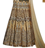Long sleeves with heavy hand work. Heavy embroidery work and stone work on lehanga. Beige pure-bemberg-chiffon dupatta with lace border and stone work photo