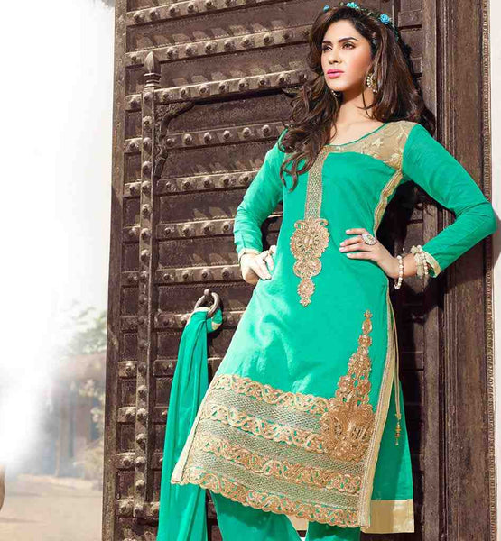 PUNJABI SUITS DRESS MATERIAL FOR WOMEN MATCHING DUPATTA & SALWAR