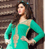 MAGNIFICENT CHANDERI COTTON PUNJABI SUIT