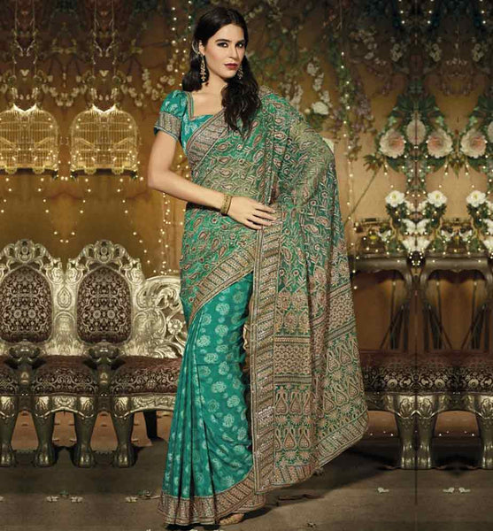 Party wear Net Saree