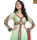 LATEST SHADED PARTY WEAR ANARKALI SALWAR KAMEEZ SUIT